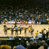 Photo taken at Carver-Hawkeye Arena by Kirk T. on 2/2/2012