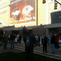 Photo taken at Super Bowl Village by Dexter W. on 2/5/2012