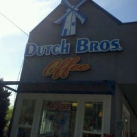 Photo taken at Dutch Bros. Coffee by traci M. on 5/16/2012