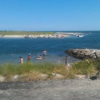Photo taken at Riley's Beach by Max B. on 7/3/2012