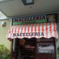 Photo taken at Macelleria D'Ambrosio by Antonio M. on 5/24/2012