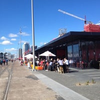 Photo taken at Wynyard Quarter by Darren D. on 8/10/2012