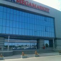 Photo taken at Roda Megamarket by Nick S. on 8/16/2012
