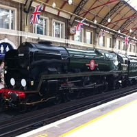 Photo taken at London Victoria Railway Station (VIC) by Lincoln C. on 7/6/2012