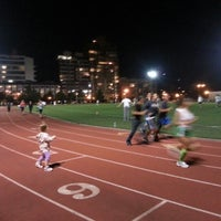 Photo taken at McCarren Park Track by Felix M. on 9/11/2012