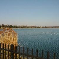 Photo taken at Lake Montebello by Jody M. on 2/18/2012
