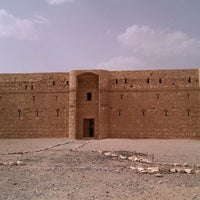 Photo taken at Qasr Kharana by Rawan R. on 4/28/2012