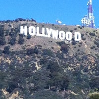 Photo taken at Hollywood Sign Vista Point by Pata S. on 2/10/2012