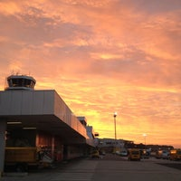 Photo taken at Blue Danube Airport Linz (LNZ) by Boris G. on 8/15/2012