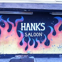 Photo taken at Hank's Saloon by Rob D. on 7/21/2012