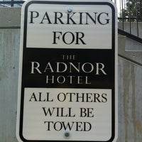 Photo taken at The Radnor Hotel by Amanda C. on 8/15/2012