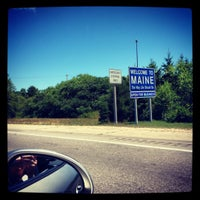 Photo taken at Maine State Line by Nicole C. on 7/21/2012