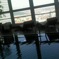 Photo taken at Panorama Hotel Prague by Gabriel S. on 8/23/2012