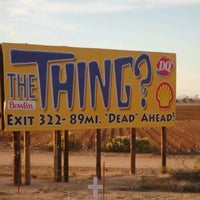 Photo taken at The Thing? by Marty D. on 2/5/2012