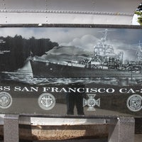Photo taken at USS San Francisco Memorial by Nate G. on 2/13/2012
