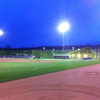 Photo taken at Heerenschuerli Baseball Stadium by Chris S. on 5/8/2012