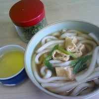 Photo taken at 麺類食堂 河崎屋 by Ise T. on 9/10/2012