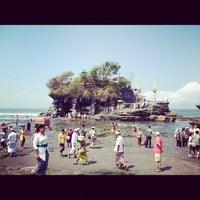 Photo taken at Tanah Lot Temple by Kei I. on 9/12/2012