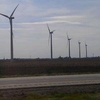 Photo taken at Meadow Lake Wind Farm by Thomas P. on 4/19/2012