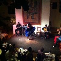 Photo taken at El Tablao de Carmen by Burcin T. on 6/3/2012