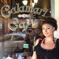 Photo taken at Calamari Cafe by Jaan on 6/10/2012