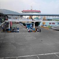 Photo taken at Pelabuhan Merak by Yopie S. on 8/23/2012
