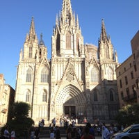 Photo taken at Cathedral of Saint Eulalia of Barcelona by María on 6/14/2012