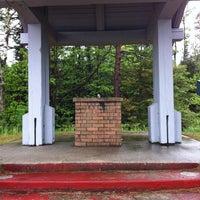 Photo taken at Manistique Roadside Park by Amanda P. on 5/27/2012