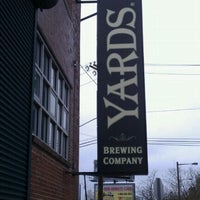 Foto tirada no(a) Yards Brewing Company por Cj L. em 3/31/2012