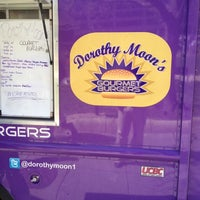 Photo taken at Dorothy Moon's Gourmet Burgers by Nicholas B. on 4/2/2012