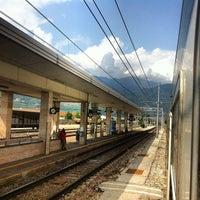 Photo taken at Stazione di Rovereto by Alper Ç. on 7/31/2012