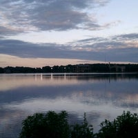 Photo taken at Chestnut Hill Reservoir by Taylor C. on 6/6/2012