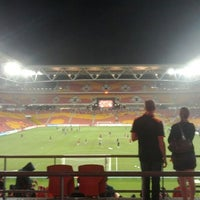 Photo taken at Suncorp Stadium by Peter M. on 3/6/2012