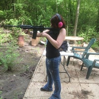 Photo taken at slowsticky's shooting range by Gringa on 5/9/2012