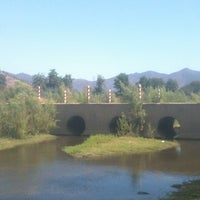 Photo taken at Los Campos de Alhué by Francisco C. on 2/16/2012