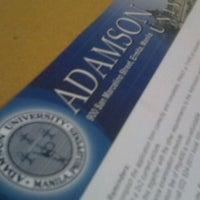 Photo taken at Adamson University by Nik N. on 5/25/2012