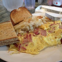 Photo taken at Omega Diner by Tyler A. on 7/13/2012