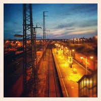 Photo taken at Bahnhof Dresden-Friedrichstadt by Andreas S. on 5/20/2012
