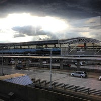 Photo taken at JFK AirTrain - Terminal 8 by Hannah on 6/7/2012