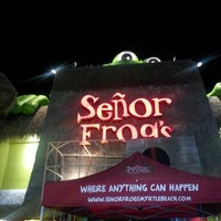 Photo taken at Señor Frog's by Secouri M. on 7/21/2012