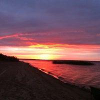 Photo taken at Lake Ladoga by Tanya on 7/15/2012