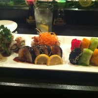 Photo taken at Rise Sushi Lounge by Dionne W. on 2/18/2012