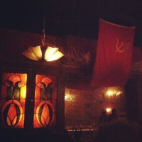 Photo taken at KGB Bar by Bea V. on 7/15/2012