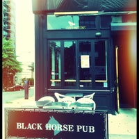 Photo taken at Black Horse Pub by Chris on 8/19/2012