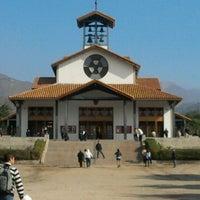 Photo taken at Santuario Santa Teresita de los Andes by Giovanna P. on 6/3/2012