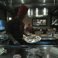 Photo taken at Kobe Japanese Steakhouse and Sushi Bar by Fausto C. on 6/19/2012