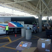 Photo taken at Greyhound Bus Lines by Andrew D. on 4/22/2012