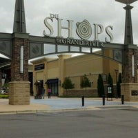 Photo taken at The Outlet Shops of Grand River by Leslie R. on 8/19/2012