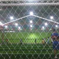 Photo taken at Lap. Futsal AGIL by dianluvrizky on 3/9/2012