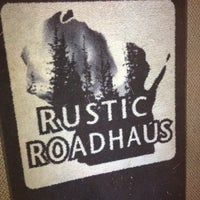 Photo taken at The Rustic Roadhouse by Doublegun C. on 5/28/2012